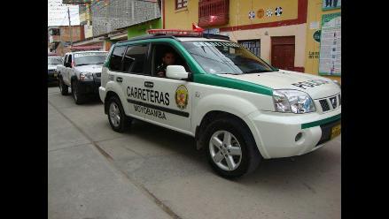 Policía de Carreteras redobla seguridad en la vía Moyobamba-Tarapoto