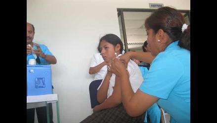 Piura: 10 mil niñas serán vacunas contra cáncer de cuello uterino