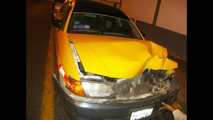 Un herido deja choque provocado por un conductor ebrio en Trujillo