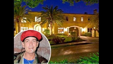 Charlie Sheen pone en venta su mansión de Beverly Hills