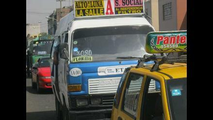 Recaudación por detracciones al transporte  sumará S/. 24 millones