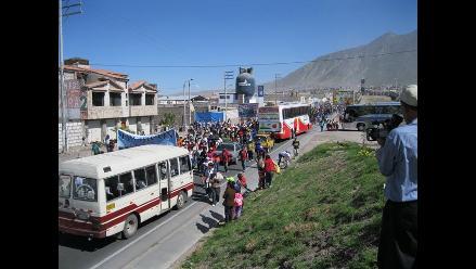 El aire contaminado descendió de 700 a 400 metros de altura en Arequipa