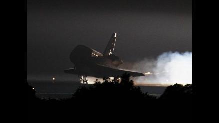 El Endeavour completó con éxito su última misión