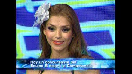 Claudia Portocarrero fue eliminada en Amigos y Rivales