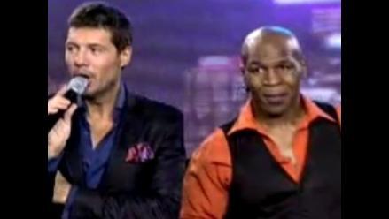 Mike Tyson realiza segundo baile en el programa de Marcelo Tinelli