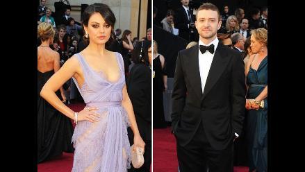 Justin Timberlake y Mila Kunis tuvieron momento íntimo en vivo