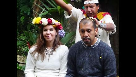 Celebran matrimonio masivo en medio de rituales de la cultura Nazca