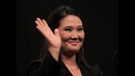 Keiko Fujimori a través de Facebook agradeció a sus electores