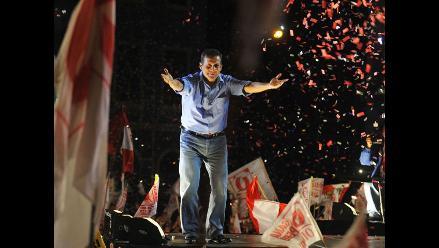 Humala agradece vía Twitter a los peruanos que votaron por él