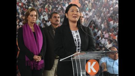 Keiko Fujimori reconoce victoria de Ollanta Humala en elecciones 2011