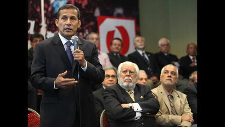 Humala inicia en Brasil una gira por países del Mercosur