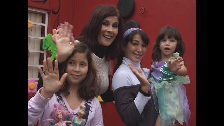Olga Zumarán y Danuska Zapata anuncian show de Disney sobre hielo