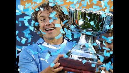 Reviva en imágenes el partido Uruguay vs. Holanda