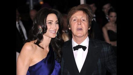 Paul McCartney y Nancy Shevell celebran el amor