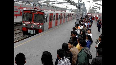 Viajes en tren eléctrico serán gratuitos de julio a setiembre