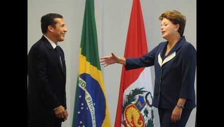 Ollanta Humala: Brasil es socio estratégico del Perú