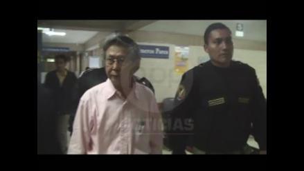 Expresidente Alberto Fujimori ha perdido gran cantidad de peso, indican
