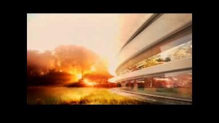 Apple planea construir su nueva sede con forma de ovni