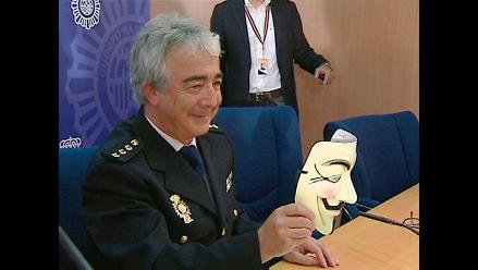 Anonymous asume autoría de un ataque a la web de la Policía española