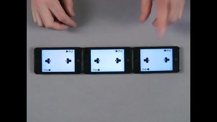 Vea asombrosos trucos de magia realizado con 3 iPod Touch