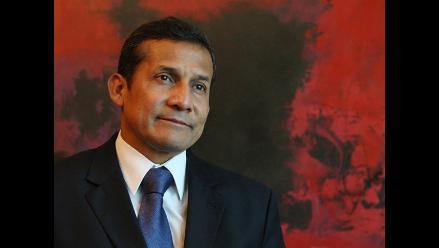 Humala anuncia reunión con canciller para tratar diferendo marítimo
