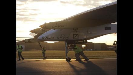 Un avión solar concluye con éxito su segundo viaje internacional