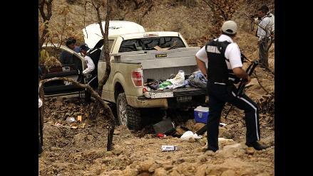 Trece muertos dejan acciones del crimen organizado en México