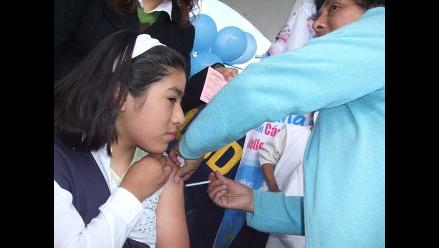 Arequipa: Continúa vacunación contra la poliomielitis, sarampión y rubéola