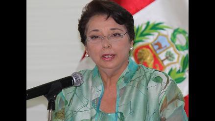 Beatriz Merino: Juez decidirá si Aduviri comete infracción a la ley