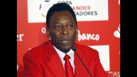 Pelé aconseja al Santos que desconfíe de su supuesta ventaja en la final
