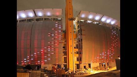 Estadio Nacional puso en marcha moderno sistema de iluminación