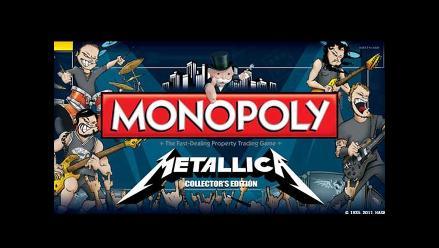Metallica tendrá su propia edición del juego monopolio