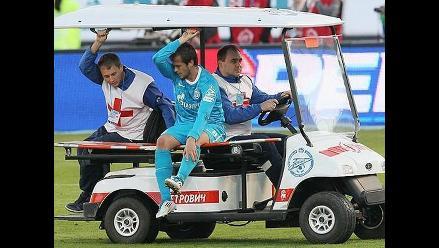 Policía hirió a un jugador serbio con descarga eléctrica en Rusia
