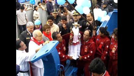 Peligra tradicional procesión de San Pedrito en el mar de Chimbote