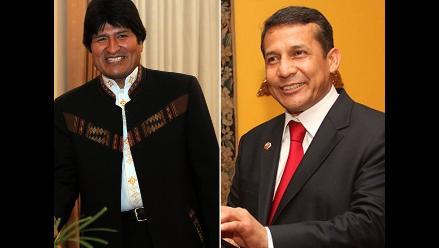 Morales plantea a Humala ´trabajar por Perú, Bolivia y Latinoamérica´