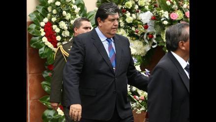Alan García: ´El Perú debe mucho a Analí Cabrera´