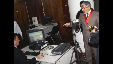 Instalan sistema de identificación de detenidos en Juzgado de Turno