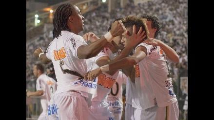 Santos venció 2-1 a Peñarol y consigue título de la Copa Libertadores