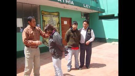 Cajamarca: Detienen a mujer por golpear e intentar ahorcar a su hijo