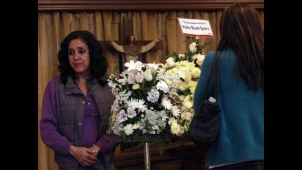 Multitud de gente rindió homenaje a Analí Cabrera