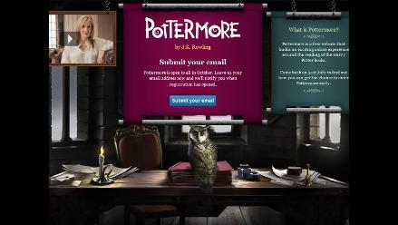 J.K. Rowling presenta la nueva aventura de Harry Potter en Pottermore