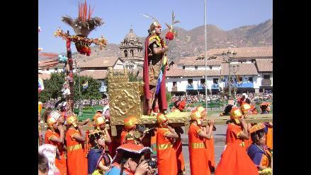 Turistas disfrutaron de la escenificación del Inti Raymi