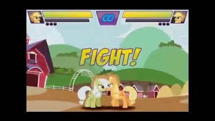 Vea el tráiler del juego Mi Pequeño Pony al estilo de Street Fighter