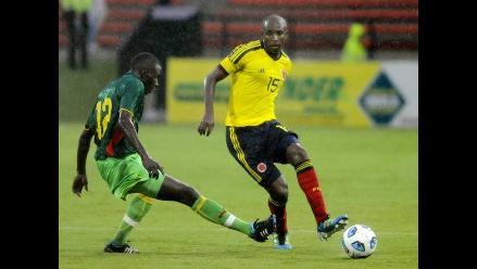 Colombia venció 2 a 0 a Senegal y llega motivado a la Copa América