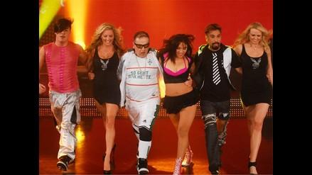 Conejitas de Playboy pusieron a bailar a Beto Ortiz en El Gran Show