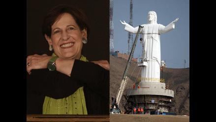 Susana Villarán: El Cristo del Pacífico se queda