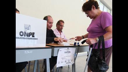 La Libertad: Todo listo en Curgos para elecciones complementarias
