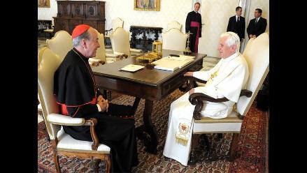 Cardenal Cipriani: Que el Perú haga un buen papel en la Copa América