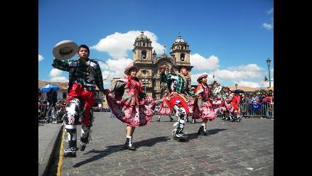 Centenario de Machu Picchu: Pasacalle inicia festejos en el Cusco