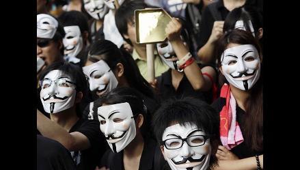 Anonymous prepara ´regalo´ para EE.UU en su Día de la Independencia